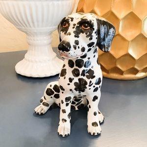 CERAMIC DALMATIAN DOG MADE IN ITALY